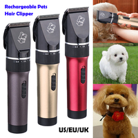 Professional 2000mAh High Power Pet Trimmer Dog shavers Cattle Rabbits Shaver Pet Grooming Electric Hair Clipper Machine