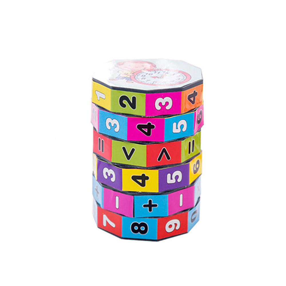 Magic Cubes Muqgew Children Mathematics Numbers Magic Cube Toy Puzzle Game Gift New Kids New Magic Cubes Educational Toys For Child #30 High Quality And Inexpensive