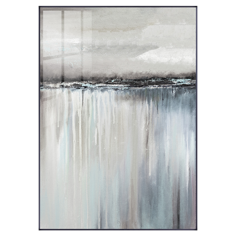 HTB17NiqQmzqK1RjSZFjq6zlCFXaU Minimalist Abstract Gray Sailboat Reflection Poster Print Canvas Painting Picture Living Room Home Nordic Decorative Stickers
