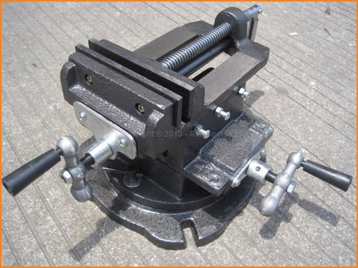 5 Mechanical Swivel Base Cross Multi Direction Milling Bench Vice Clamp сигнализатор поклевки hoxwell new direction k9 r9 5 1