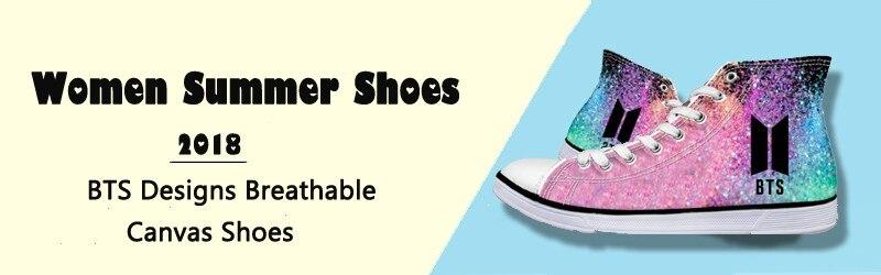 canvas shoes women BTS