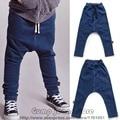 2016 Nueva Bobo Choses Otoño Invierno para Niños Jeans Denim Baggy Pants Nununu Harem Pantalón Para Niños Niñas Bebés de Los Niños de Algodón