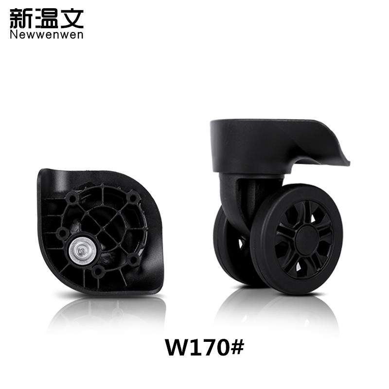 Replacement luggage wheels,Repair Suitcase Parts Accessories Luggage Wheel Replacement Wheels for Suitcases W170# new luggage replacement wheels suitcase repair replacement parts 360 spinner upright mute high quality wheels for suitcases 2pcs