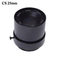 CCTV LENS 1 3 F CCTV Fixed Iris IR Infrared 25mm CS Mount IR CCTV Lens