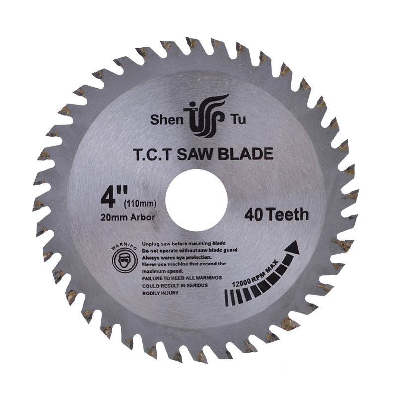 1pc 4 Inch 40 Teeth Tct General Purpose Hard Soft Wood