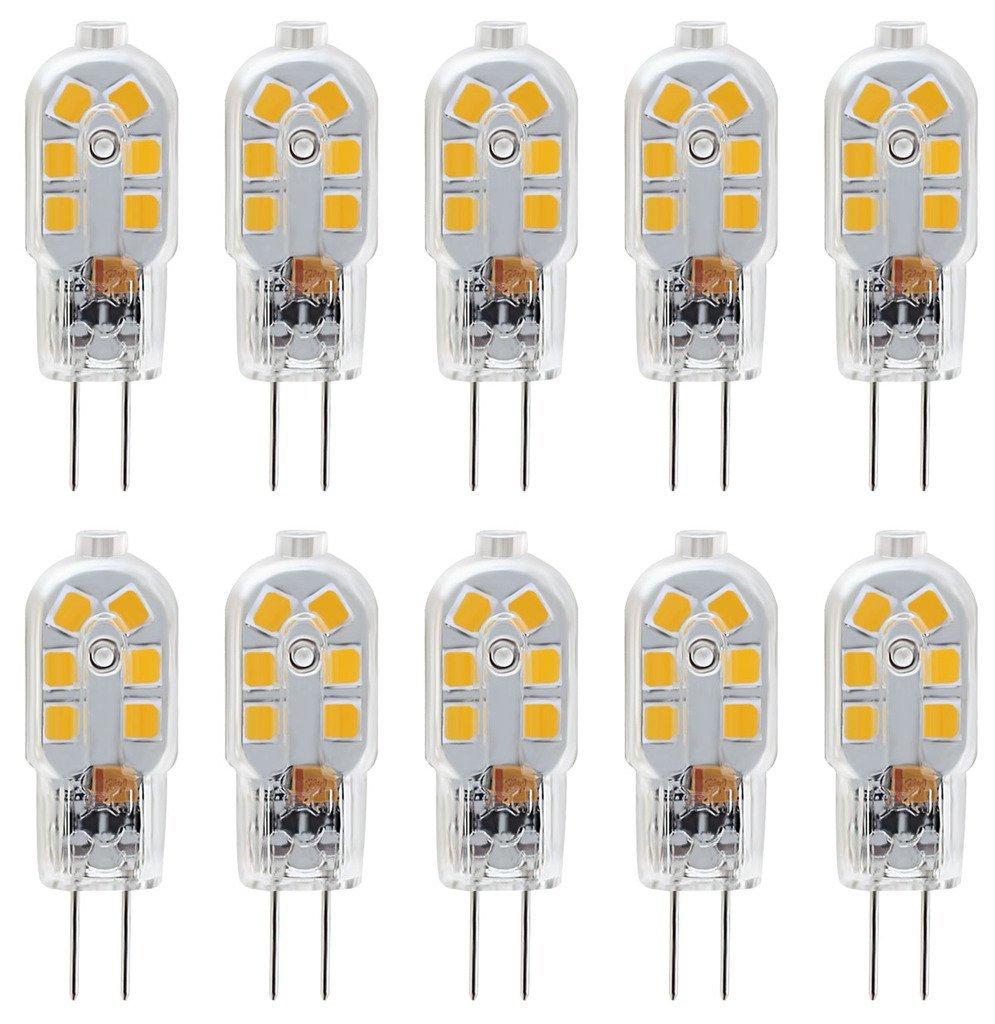 BulbBi 3000k VoltWarm G4 Led Degree Base20w 360 Pin Halogen EquivalentDc 12 White Bulb 6000k mnOyN0Pv8w