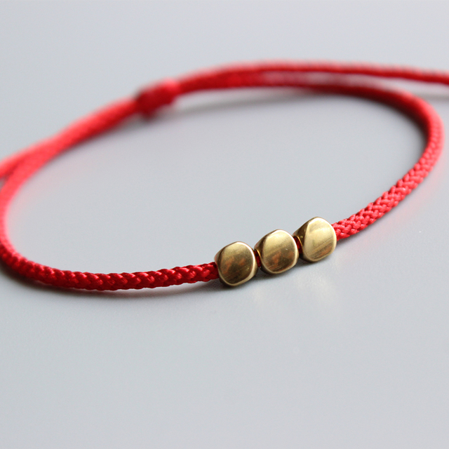 Bracelet Fil Rouge Tibetain
