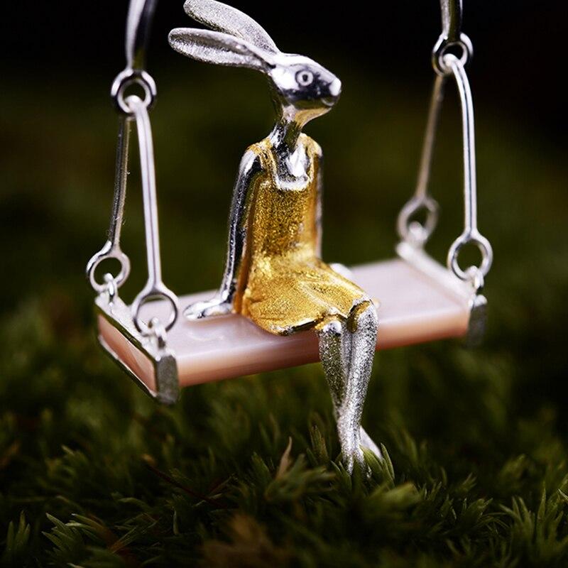 Lotus Fun Echt 925 Sterling Silber Natürliches Perlmutt - Edlen Schmuck - Foto 3