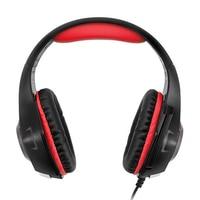 Marke Neue Gaming Kopfhörer Für Handy Ps4/Psp/Pc 3,5 Mm Verdrahtete Kopfhörer Mit Mikrofon Led-lampe Noise Cancelling Headse