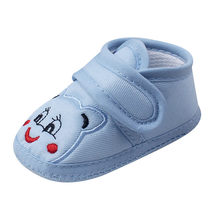 kids Baby Girl Boy Soft Sole Animal Cartoon Anti-slip Shoes Toddler Shoes chaussure enfant sapato infantil Boys girls shoes(China)