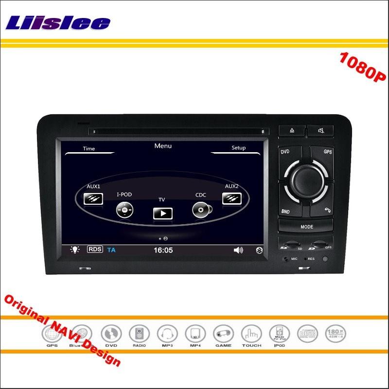 Liislee For Audi A3 2011~2016 Stereo Radio CD DVD Player GPS Map Nav Navi Navigation 1080P HD Screen System Original NAVI Design