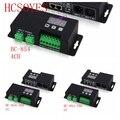 BC-854-350/BC-854-700/BC-854 CC/CV 4CH DMX512 декодер 3-цифровой дисплей DMX DMX512 Контроллер привод сигнала постоянное напряжение