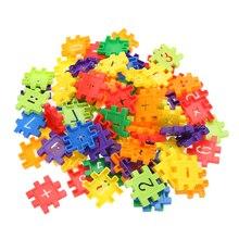 80pcs/set Baby toys Children Kid Digital Educational Building Blocks Toy Plastic Chirstmas gifts