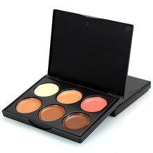 6 Colors Professional Face Concealer Palette Contour Makeup Base Foundation Primer Dermacol Corrector Concealers Cosmetics S18