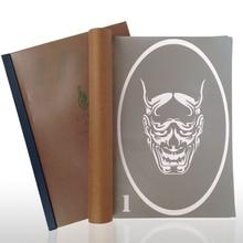 20 Designs Temporary Airbrush Tattoo Stencil Book Airbrush Stencils Template Booklet Book 20