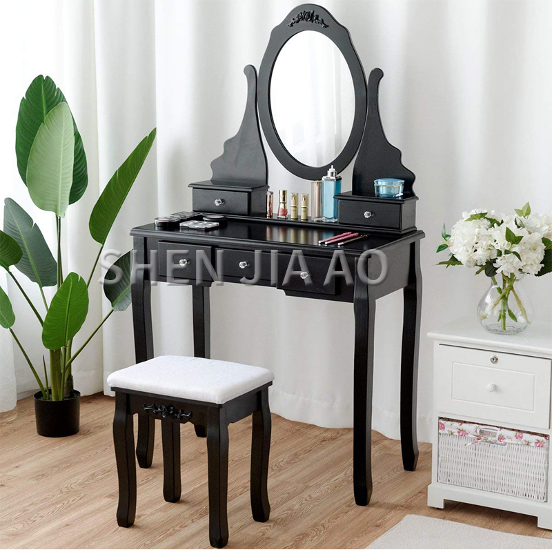 US $88.11 11% OFF|Economic Type European Dressing Table Simple Dressing  Table Garden Princess Bedroom Mini Dressing Table 1PC-in Dressers from ...