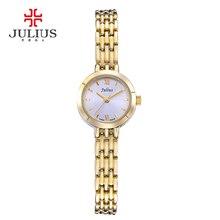 Фотография Mini Julius Lady Woman Wrist Watch Fashion Hours Dress Bracelet Simple Alloy OL Business Girl Valentine Birthday Gift JA-770