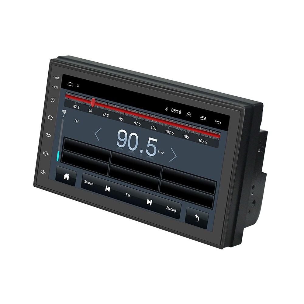 Lecteur multimédia de voiture Podofo 2 din 7 ''radio FM tactile avec Bluetooth GPS WIFI 1024*600 résolution d'écran - 2