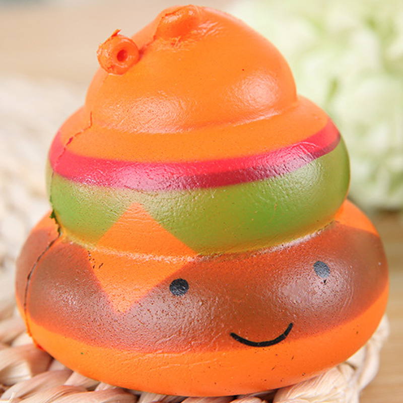 Squishy Gift Anti-stress excrement Squishy Slow Rising Crazy Stool Squeeze Poo Cure Decor Relieve Boy Girl Adult Kids Fun Toys
