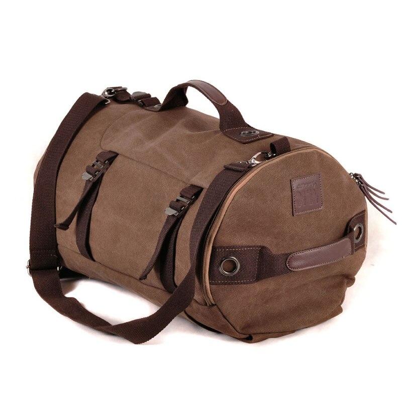 Mochila táctica militar hombre deportes multifuncional mochilas de lona de gran capacidad cubo deporte ejército bolsa gimnasio viaje mochila - 2