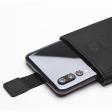 Купить с кэшбэком QIALINO Business Style Genuine Leather Wallet Pouch Case for Huawei P20 Pro 6.1 inch Holster Card Slots Phone Cover for P20 Pro