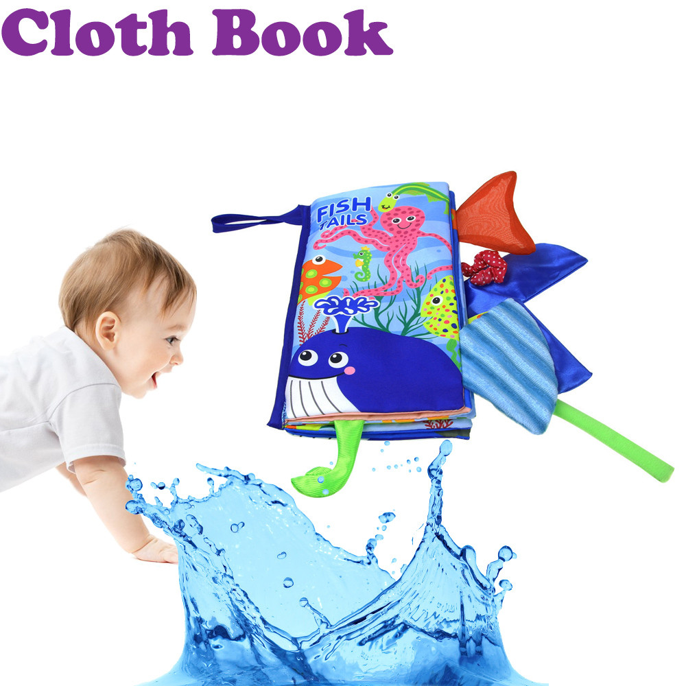 Earnest New Cloth Book Baby Kids Boys Girls Intelligence Development Educational Special Cloth Design,durable Toys Home