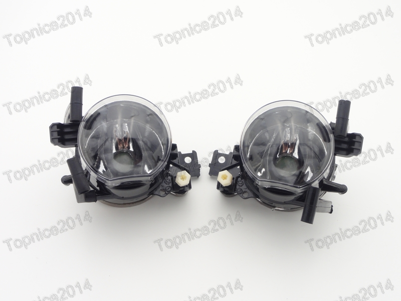 ФОТО 1Pair Left & Right Front Bumper Fog Lights Fog Lamps For BMW 7-Series E66 2005-2008