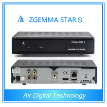 Mejores ventas de 10 unids Original Zgemma estrella S DVB-S2 Enigma2 receptor digital de satélite nube ibox 2 plus Update Version