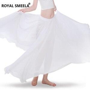 Image 5 - Phụ Nữ Mới Thiết Kế 720 Độ Vẫy Tay Múa Bụng Váy Bellydance Đầm Vũ Vải Thực Hành Mặc Biểu Diễn Múa Bụng Trang Phục
