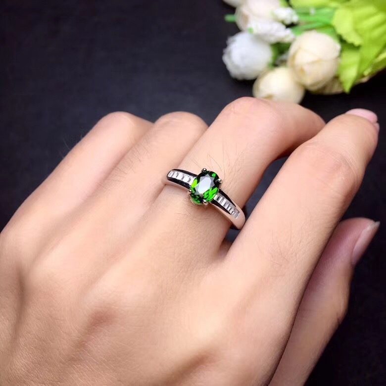 HTB17NnjbcfrK1RkSnb4q6xHRFXad - Natural Tested Diopside Rings for Women  925 Sterling Silver
