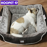 HOOPET Pet Warm House Dog Bed Sleeping Sofa Puppy Dogs Home Pets Cat Comfortable Kennel