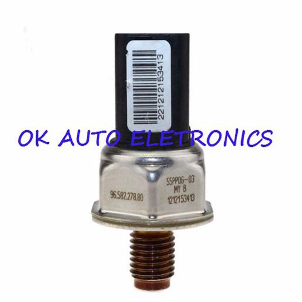Hot Sale Fuel Rail Pressure Sensor For Peugeot 107 206 207 307 308 Citroen Diagram 407 16 Hdi Fiat D Multijet Engine 55pp06 03 2002 2014