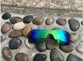 Novo Jade Verde Cor de Substituição de Lentes Polarizadas para Oakley Batwolf Sunglasses 100% UVA & UVB