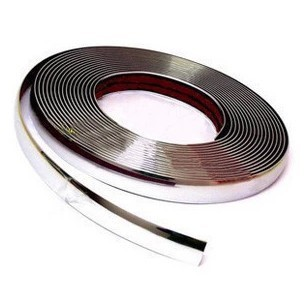 Free shipping Car Chromium Styling strip 6mm*1m Car accessories exterior decoration chrome moulding Wholesale+Retail