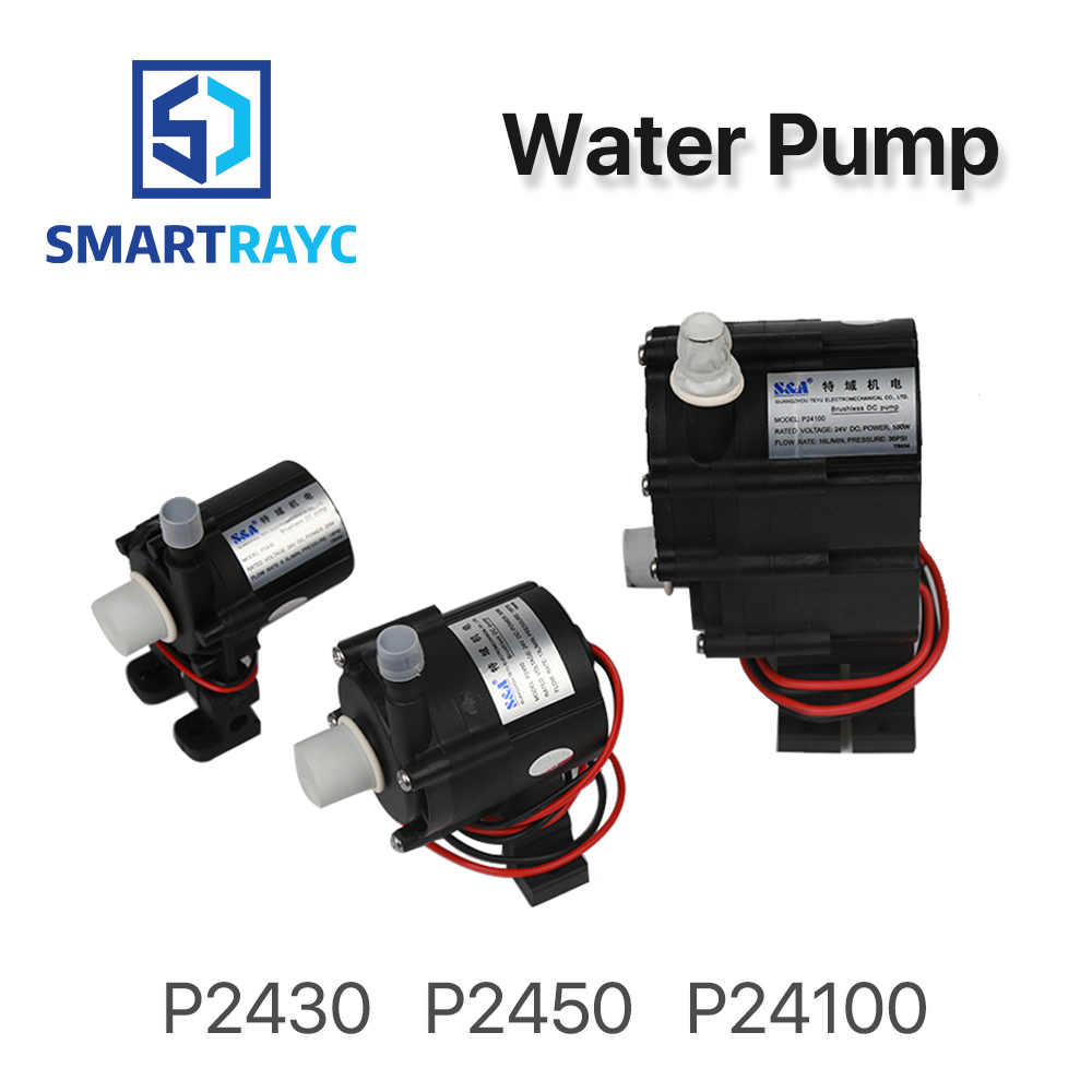 Smartrayc Water Pump P2430 P2450 P24100 for S&A Industrial Chiller CW-3000 AG(DG) CW-5000 AH(DH) CW-5200 AI(DI)