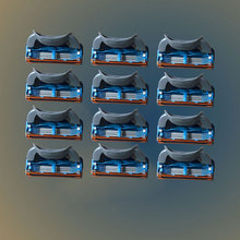 12pcs/lot Razor Blade For Men Shaving Blades Safety Blades Cassette Shaver Suit For Gillettee Fusion proglide