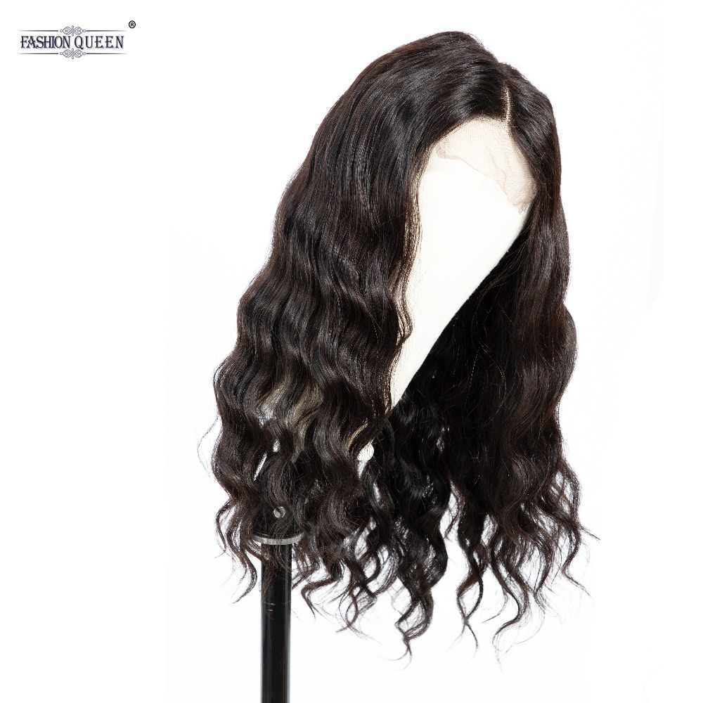Peruvian Body Wave Wig Lace Front Human Hair Wig For Women Natural Hairline with Baby Hair 4*4 Lace Wig Remy Hair