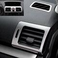 5 шт. Нержавеющая сталь верхней вниз ближний сторона A/C кондиционер vent приборной панели консоли рамка планки для Subaru Forester XV 13-16