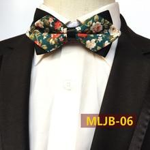 Ручной работы галстук-бабочка с цветочным рисунком с зеленым, синий, бледно-розового и черного цветов свадебные туфли с украшением в виде цветов, хороший подарок для Него