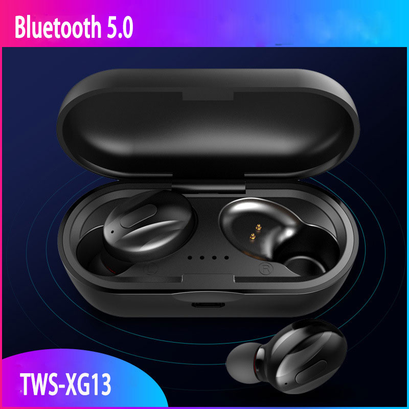 <font><b>TWS</b></font> Bluetooth 5.0 wireless earphones 3D Stereo in-ear earphone wireless sports earbuds noise cancelling headset waterproof image