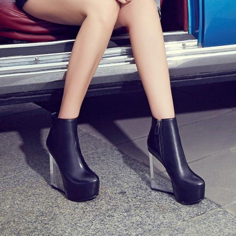 blanc Femmes Compensées Talon Chaussures huang R08696 De Pompes Vulusvalas forme Véritable Zong 41 Cuir Zipper 33 Réel En Noir Plate Taille Mode HPFtxtqdw
