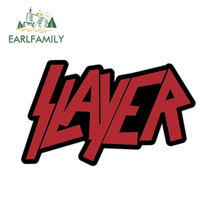 EARLFAMILY 13cm x 7.9cm SLAYER