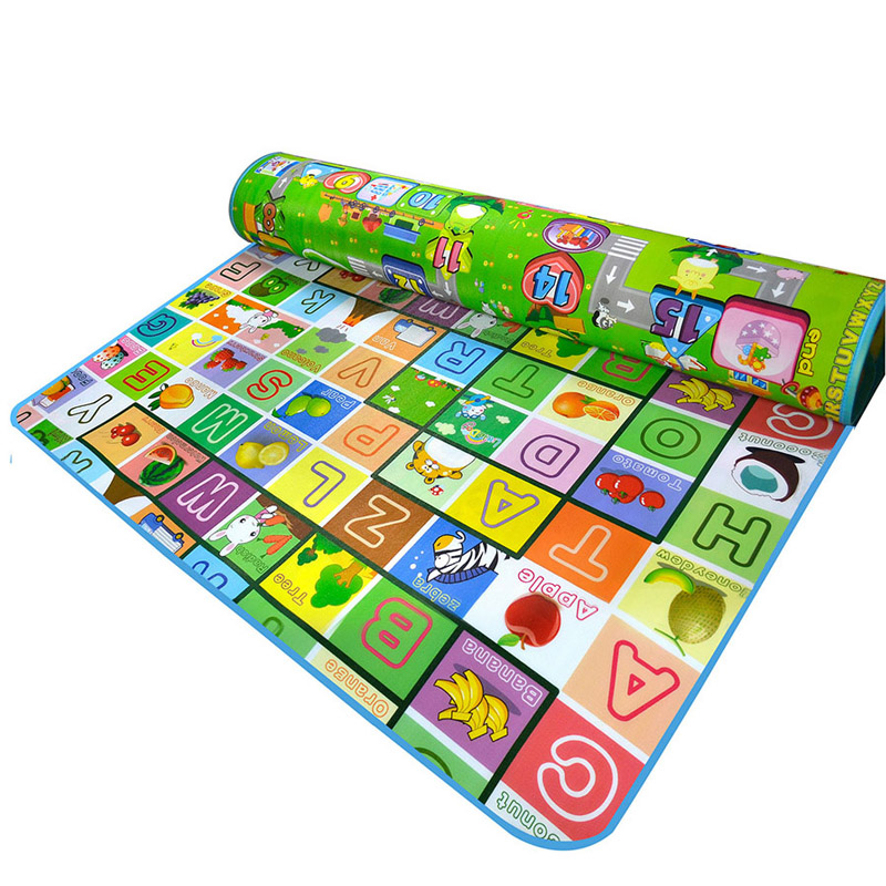 Baby Toys Play Mats Animals Car Letter Alphabet Double Site Game Picnic Rugs  Baby Developing