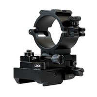Drop shipping Laserspeed Adjustable 25.4mm and 30mm Picatinny Rail Scope Mount
