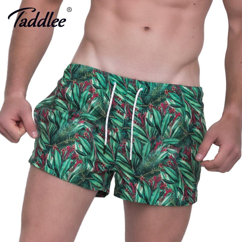 Taddlee Brand Men Beach   Shorts     Board   Boxer Trunks Men's Swimwear Swimsuits Swim Surfing   Shorts   Running Sports Trunks Gym   Shorts