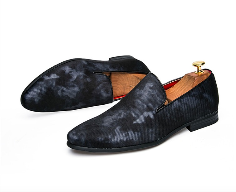 Male casual shoes, leisure shoes, leisure and breathable personal shoes men 2018 Mens Flats Male Slip-On Driving Shoes