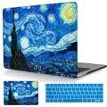 Звездная Ночь сумки Ноутбук Для Macbook 2016 Pro 13 Retina A1706/A1708 покрытие Hard Cover Для Mac book Pro 15 A1707 Сенсорный Бар случае