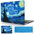 Starry Night Laptop bags For Macbook 2016 Pro 13 Retina A1706/A1708 Cover Hard Cover For Mac book Pro 15 A1707 Touch Bar Case