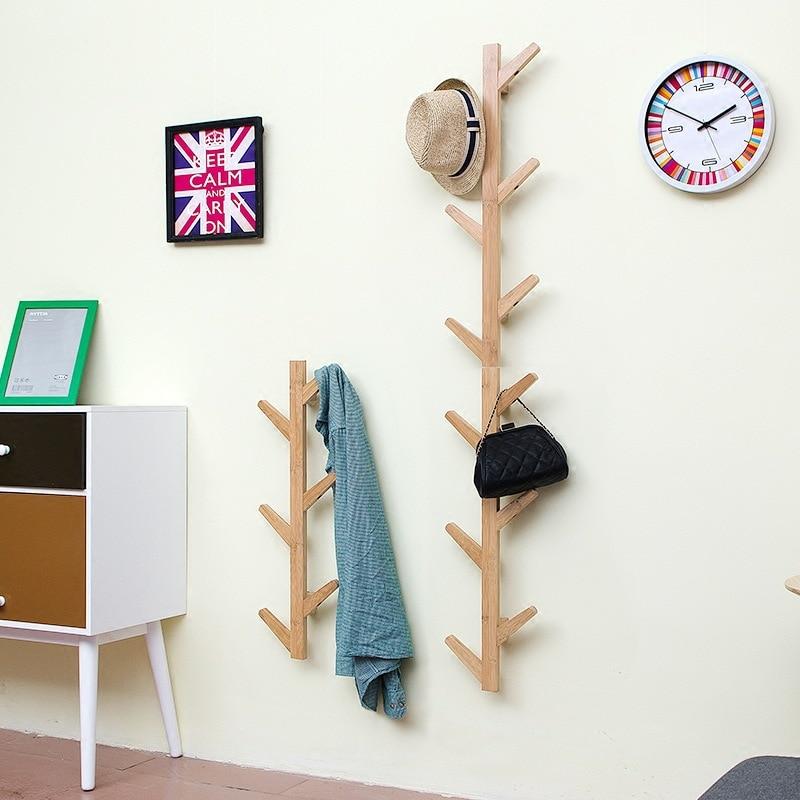북유럽 대나무 나무 교수형 걸이 걸이 나뭇 가지 모양 옷 걸이 걸이 걸이 크리 에이 티브 거실 벽 교수형-에서수납 홀더 & 랙부터 홈 & 가든 의  그룹 1