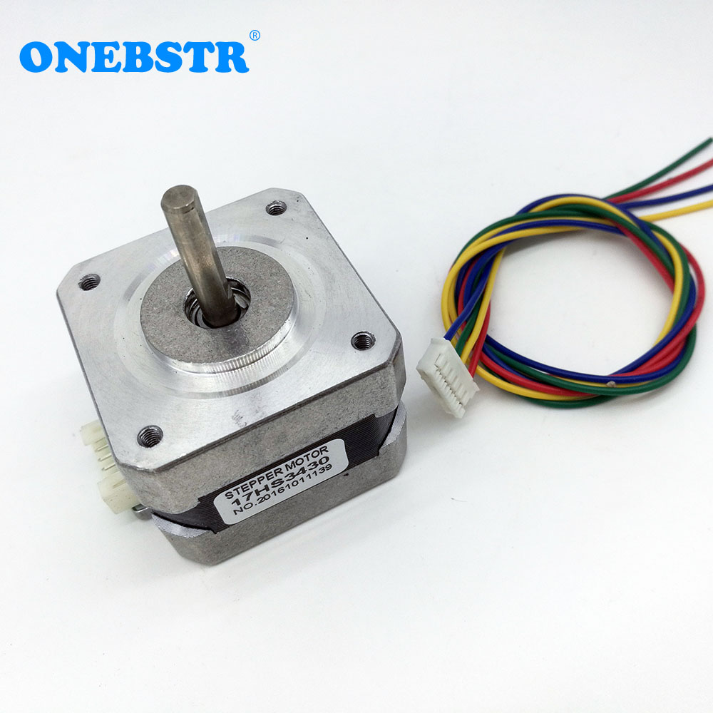 42bygh 4 Lead Nema17 Stepper Motor 04a 17hs3430 For Xyz 42 Three Phase Wiring X Y Z 17 Nema Diy 3d Printer Accessories In Parts From Computer